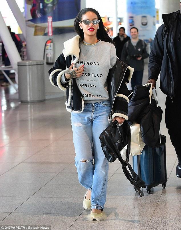 Airport Look for Met Gala