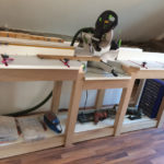 DIY Miter Saw Stand Home Depot