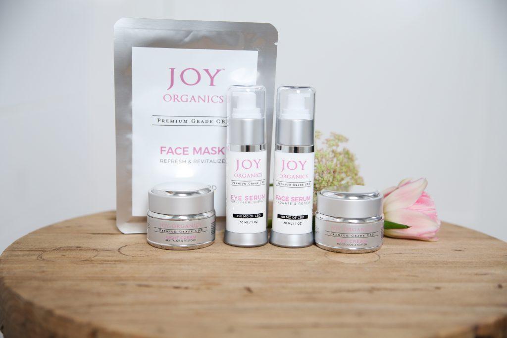 Joy Organics CBD Skincare Line