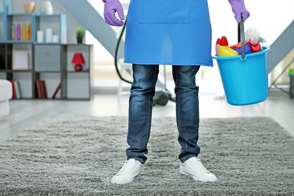 Professional cleaners have training and experience