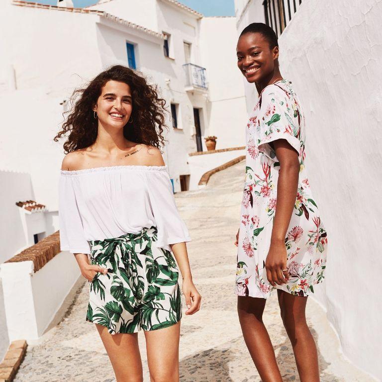 Bold, Patterned Dresses