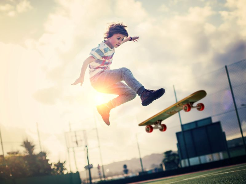 Rise to Skating Popularity