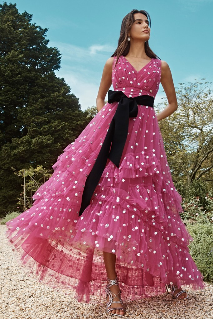 Polka Dots in 2020 Evening Gowns