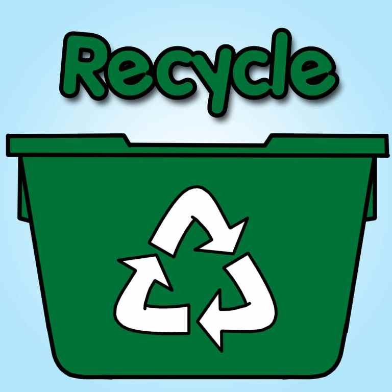 Recycle as much as you can